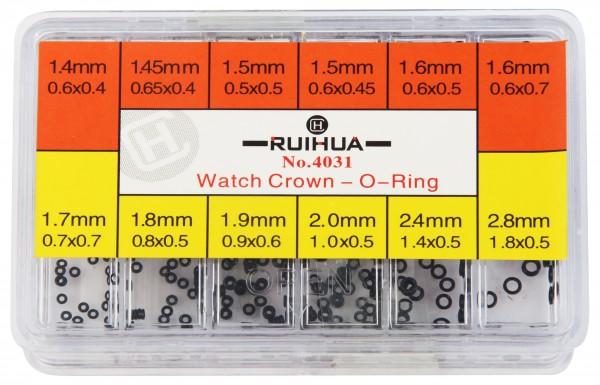 Kronendichtungen im Set, 1,4 mm bis 2,8 mm
