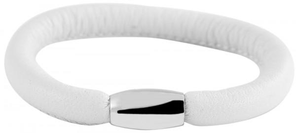Cham Cham Echt-Leder Rundarmband aus Schafsleder, Länge 18 cm, Breite 7 mm