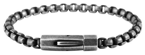 Raptor Edelstahl Venezianerarmband, Magnetverschluss, IP Beschichtung