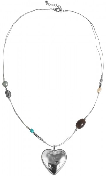 Cham Cham Textil Damen Halskette, Länge: 85 cm / Stärke: 2 mm