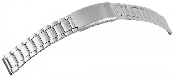 Edelstahl-Uhrenarmband, silberfarben, VE 12, 16 mm