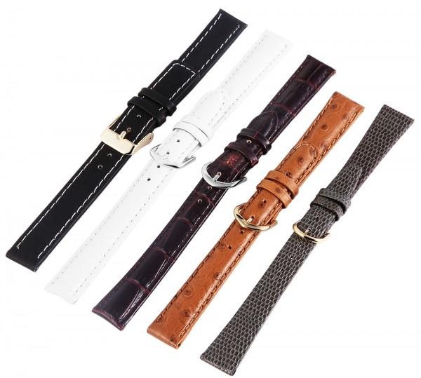 Basic Echtleder Armband in , , , 14 mm