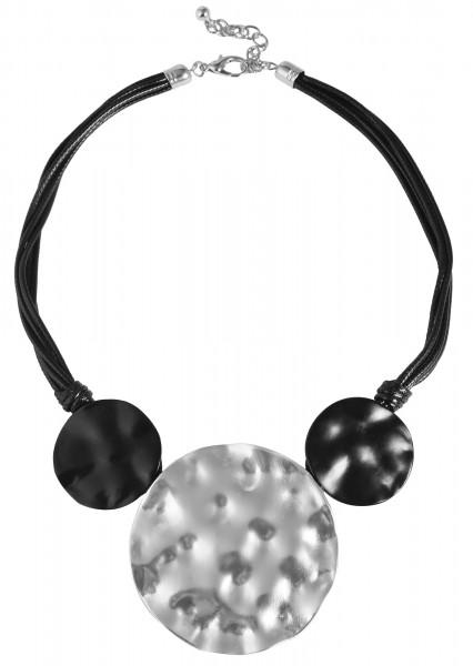Cham Cham Textil Damen Halskette, Länge: 45 cm / Stärke: 7 mm